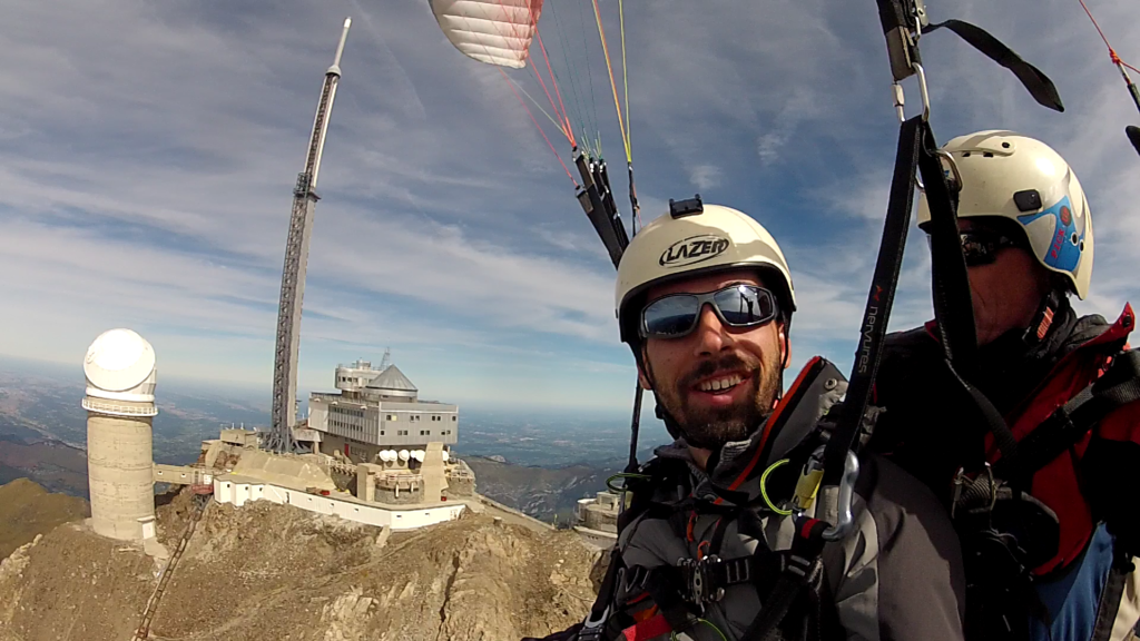 Vol en parapente biplace au Pic du Midi de Bigorre