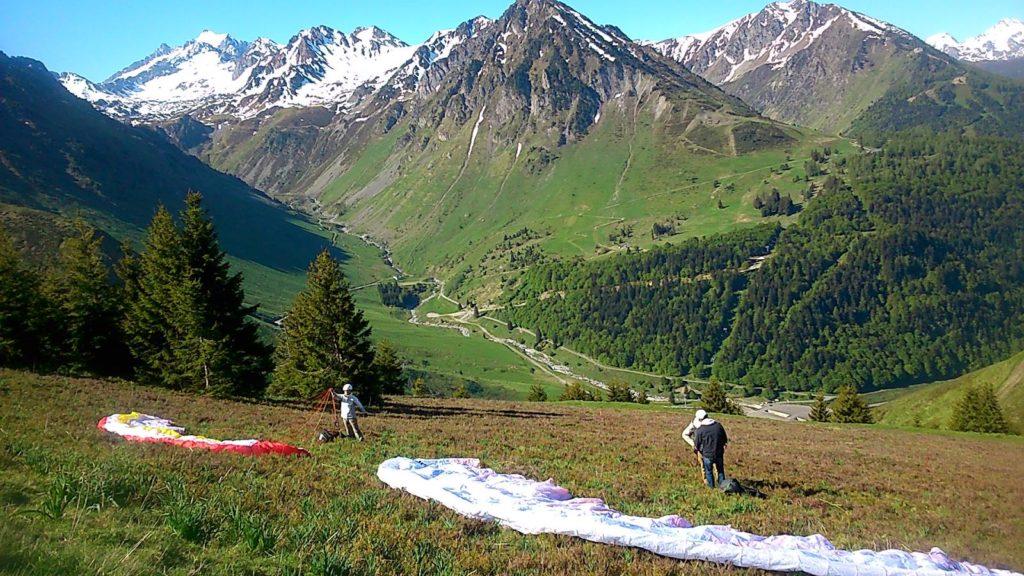 Stage initiation parapente Pyrénées