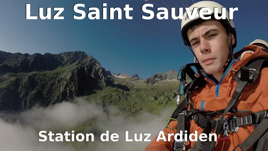 Baptême en parapente biplace Luz Saint Sauveur - Ardiden