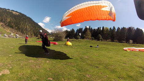 stage parapente initiation